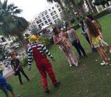 CLOWN HOST DUBAI/ GAME ORGANIZER  / EVENT SERVICES /PARTY SERVICES