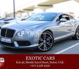 Bentley GT V8 Mulliner 2013 Grey/Black 14,000 KM