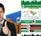 Door to Door Cargo to Pakistan 0521005212