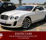 Bentley GT Supersports 2011 White/Red+Black 22,000 KM