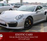 Porsche 911 Turbo S 2014 Silver-Brown 3,000 KM | Warranty Until Nov 2016