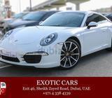 Porsche 911 Carrera 2014 White-Brown 31,000 KM