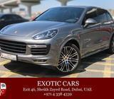 Porsche Cayenne GTS 2016 Grey-Red 5,000 KM