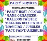 Parties   Dubai / Corporate Events/Trade Shows / Promotions