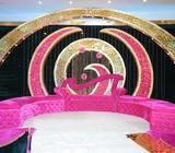 Indian Arabic Wedding Decoration Wedding planner at Dubai