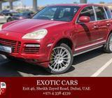 Porsche Cayenne Turbo S 2009 Red/Black 74,000 KM