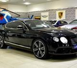 2013 Bentley Continental GT V8, Under Warranty, GCC Specs