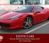 Ferrari 458 Italia 2013 Red/Red 32,000 KM | Service Contract until Nov 2019