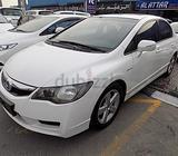 Civic 2011 Exi - 581 X 60 Months, 1Yr Warranty(Unlimited Kms),Sunroof,Low DP,Single Owner,Good Cond