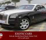 Rolls-Royce Ghost 2013 Brown +White/Ivory 19,000 KM