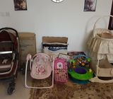 Baby bassinet Band other items
