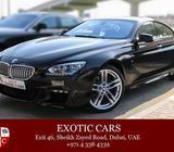 BMW 650i Gran Coupe 2015 Black/Brown Brand New! 6 years Warranty + Servive contract
