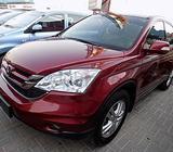 Honda CRV 2011 Red - Full Option, Leather seats, Fog Lights, Sunroof, CD, Alloy Wheels, Airbags, Cru
