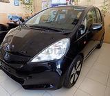 Honda Jazz 2012 Black- CD, Alloy Wheels, Airbags, Volume control, Spoiler, Keyless Entry, Low Kms, S