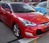 Hyundai Veloster 2016 Red - Full Option, Leather seats, DVD, Navigation, Rear Camera, Panoramic Moon