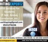 Expert SPSS Testing /Interpretation Dubai Call 0521276156 SPSS Help, learning, Support in UAE