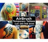 Airbrush Temporary Tattoo Body Art Designs For Events / Corporate Events / Birthdays / Henna tatto