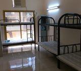 Bed space available for girls near Al rigga metro,salah al-din metro including all