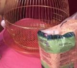 Glamorous golden cage for your loving pets, hardly used , good as new