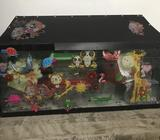 This is an old fish tank that I bought previously, it has been used but it is in very good condition