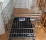 Brand New dog crate for sale.. Still in the box.My labrador never slept in it as she preferred my be