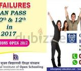 10th & 12th failures can pass 10th & 12th in 2017 from National Institute of Open Schooling.NIOS Boa