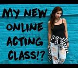 SUMMARY:Online, Skype Acting Classes.121 via SKYPE. Other video-call platforms also an option (Faceb