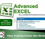ADVANCE EXCEL TRAINING Time Training Center has developed Advanced Excel Course in  which is careful