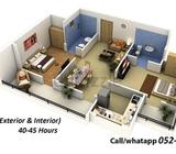 we offer :3ds max ,autocad ,graphic design call : Show Phone Number