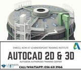DO YOU WANT TO FIND A BETTER JOB IN ENGINEERING AND CONSTRUCTION FIELD?ENROLL NOW FOR AUTOCAD 2D & 3