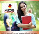 German Language CourseSkyrocket Training is starting German Group/Private Classes with Native Traine