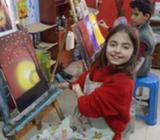 ART TUTION IN  (KIDS AND LADIES)OIL PAINTINGACRYLICS PAINTINGPENCIL SHADINGPENCIL SKETCHCOLOUR SHADI