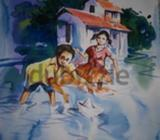 DescriptionClasses conducting for Pencil Drawing, Fabric painting, Water color, Oil painting, Mural