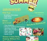 Al Sadarah yoga Kids Summer Camp for 5 to 12 yrs age kids form 1st August to 31st August 2017- kids