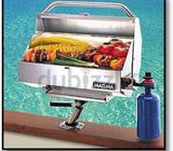 Gas BBQ for the boat lovers, used once, in perfect condition, even have a supply of gas bottle to go