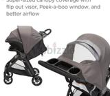 Zippy portugal Less than one month used travel system brown stroller
