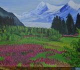 Acrylic Paitings in CanvasSize 10 X20, 30 X40, 40X60Price : AED: 150,250,400Contact Mob No. 050 3935