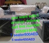 Sofa Set available for sale. Chairs (3+1+1) . AED 400