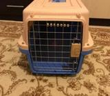 pet carrier IATA approved.in perfect condition, not used.dimensions: W 37cm, L 57cm, H 36cmstrictly