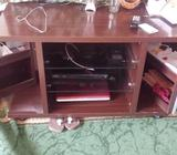 hardly used tv n myltipurpose tv cabinet sellibg only in 120 dhs its in perfect cndtn