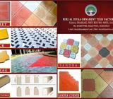We are manufacturer's of coloured garden paver tiles