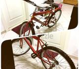 Very good condition children's bikes for sale. Red one can be used by up to 12-14 yrs old (FIXED PRI