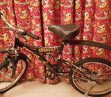Bicycle in good condition. Hardly used.serious buyers please contact