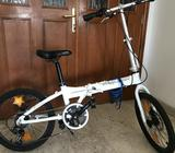 adult/teen agers folding Raleigh bicycle in excellent condition- cost AED850 ,now AED 650