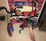 Kids cycle and rocket cycle 2 nos on sale