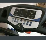 Foldable Treadmill Machine with incline option, timer, heart ♥ pulse sensor with 3 different weights