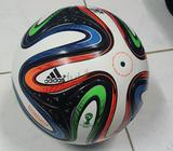 Adidas FiFA world cup 2014 match ball . Size 5 . Made in Sialkot Pakistan. WhatsApp Show Phone Numbe