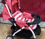 Almost brand new baby stroller AED 200/- (fixed price)