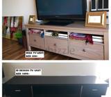 TV Unit - IKEA - AED450/