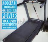 Pro-Form 720 ZLT Treadmill 1100 aed ( negotiable )2.25 horse powerMaximum user weight : 136 kgipod/m